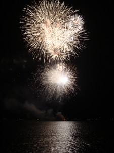 Grand Lake Fireworks - July 7, 2012
